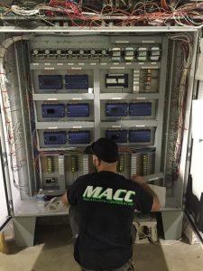 BAS control panel fabrication