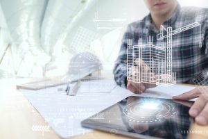 Engineer developing custom building automation solutions